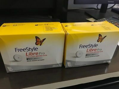 Freestyle Libre PRO Sensor mmol/ls free shipp Worldwide fresh stock (4 pack) ln