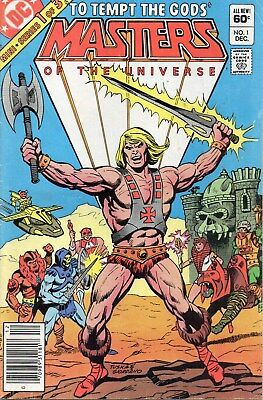 Masters of the Universe # 1 HE MAN 1st Comic Series 1982