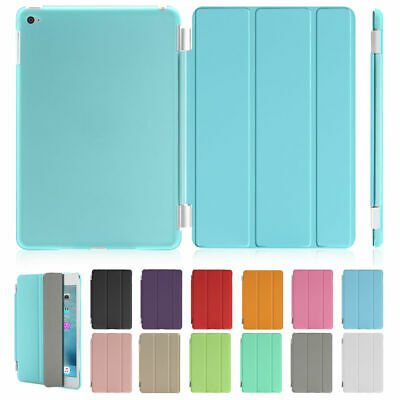 "Smart Cover Hard Back Stand Case for iPad Air 1/2| iPad 4 3 2| New iPad 9.7"" Lot"