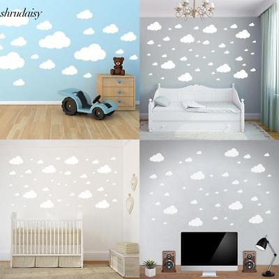 Cloud Wall Stickers Children's Bedroom Nursery Sticker Decal Clouds Decoration