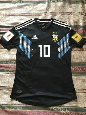 2614c510d Adidas Argentina Jersey 2018 World Cup Lionel Messi Player Version Tags+ Patches