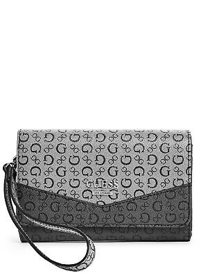 a2314e11f9 GUESS FACTORY WOMEN S Birch Slim Logo Wallet -  20.24