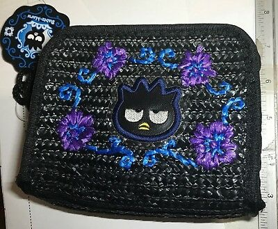 Badtz-Maru Purse Make-Up Pouch Bag Tote Sanrio Hello Kitty Penguin Pal Figure