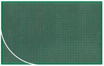 RE212-LFDS, Double Sided Eurocard PCB FR4 with 38 x 61 1mm Holes, 2.54 x 2.54mm