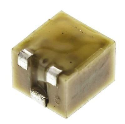Bourns 3224W Series 12-Turn SMD Trimmer Resistor with J-Hook Terminations, 50kΩ