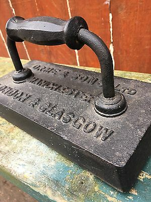 "⭐️ Vintage Antique Cast Iron Snooker Table Iron ""ORME & SONS"" Industrial ⭐️"