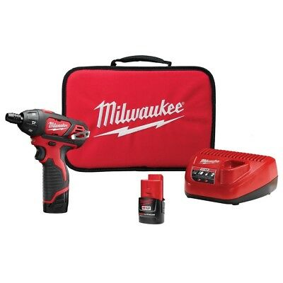 M12 12-Volt Lithium-Ion Cordless 1/4 in. Hex Screwdriver Drill Kit By Milwaukee