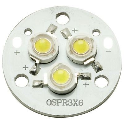 TruOpto OSPR3XM6-M5XZE1C1E 3x1 Power LED Module Warm White 270lm