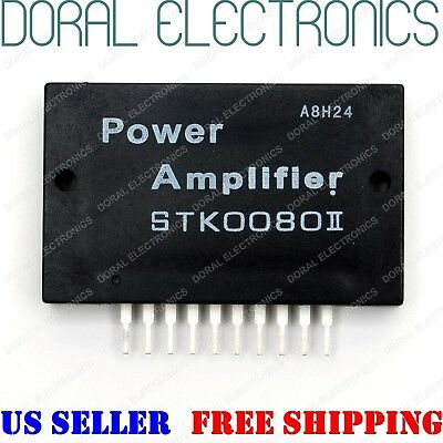 STK0080II with Heatsink compound US SELLER Integrated Circuit IC Power Amplifier
