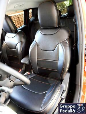 Tailor Made Faux Leather Seat Cover Jeep Renegade '14