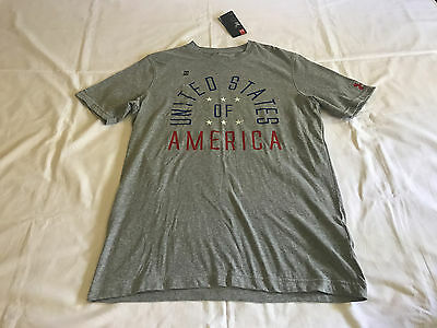 ff12b3bb Nwt Under Armour Usa America Home Of The Brave Pride Men's S Tee T Shirt  1271745