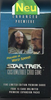 Star Trek ENHANCED Premiere Cards-Pack Set 5  NEU&Original OVP