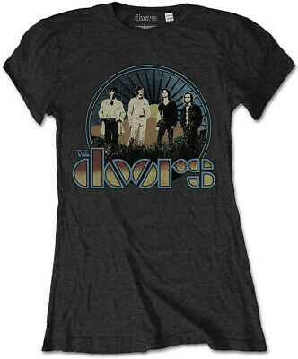 The Doors 'Vintage Field' Womens Fitted T-Shirt - NEW & OFFICIAL!