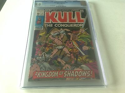 Kull The Conqueror 2 Cgc 9.0 White Pages Marvel Conan Marvel Comics B