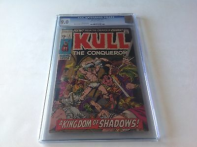 Kull The Conqueror 2 Cgc 9.0 Serpent Men Great Severin Action Cvr Marvel Comics