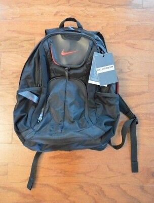 8ccc1c3698 NIKE ULTIMATUM MAX AIR UTILITY BACKPACK Black Red NWT  75 -  38.00 ...