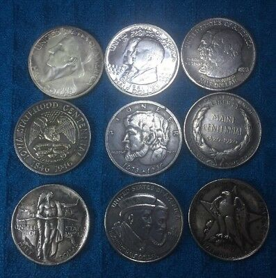 9, State Commemorative Half dollars,Fantasy coins, Novelty Coin's, made China