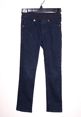 857636945 Cherokee Toddler Girls Jegging Jeans Blue sparkle Size 5T Pull on skinny  pants