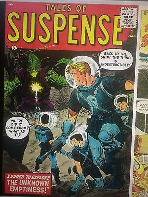 """""""Tales of Suspense"""" Comic Book Collection on DVD+R (NOT CARTOONS)"""