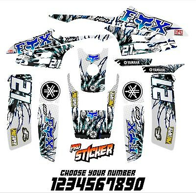 YAMAHA WARRIOR full graphics kit DECALS STICKERS
