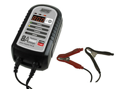 Maypole MP7428 8A 12V Electronic Smart Charger