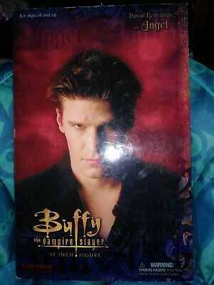 2004 12 Inch Buffy the Vampire Slayer Angel Side Show Collectibles Figure