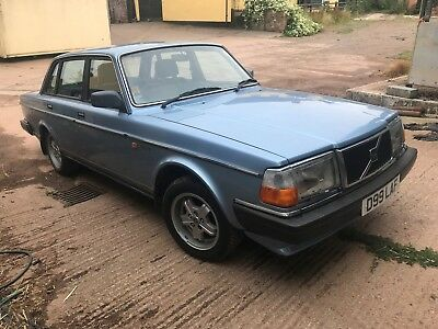 1987 Volvo 240 Gl,manual Gearbox,38K Miles Only With One Family Owner,fsh !