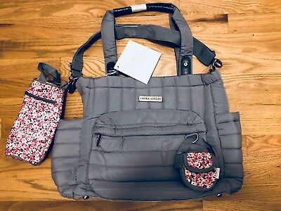 8db8140bd1 LAURA ASHLEY QUILTED 5 in 1 Diaper Bag Set- Baby bag -  49.99
