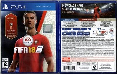 Sony Playstation 4 PS4 FIFA 18 World Cup Update Soccer Video Game Brand New
