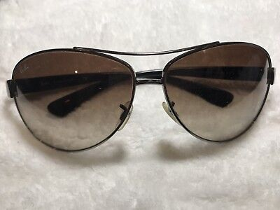 ead73fc9e4e AUTHENTIC RAYBAN RB 3387 004 13 67Mm Gunmetal gradient Brown Lens ...