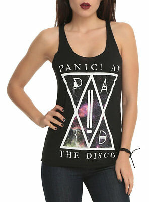 Panic! at The Disco Juniors P!ATD Galaxy Tank Shirt New XS,S,M,L,XL,2XL,3XL