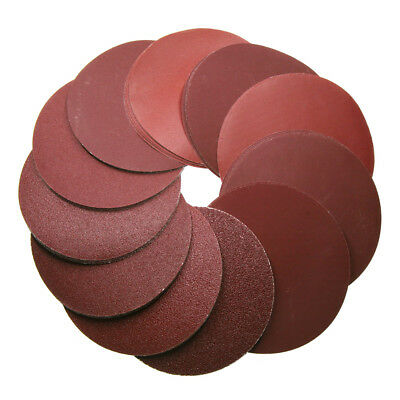 10pcs 6inch 150mm 240 Grit Sander Disc Sanding Polishing Pad Sandpaper