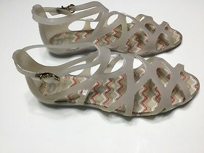 2cf3c48356721 MEL Melissa for Forever 21 Women s Strappy Gladiator Jelly Sandals Size US 8