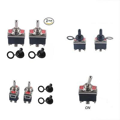 Heavy Duty Toggle Switch On-Off-On DPDT 6 Pin 15A 250VAC / 20A 125VAC With Boot