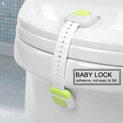 Baby Safety Cabinet Door Drawer Lock Fridge Toilet Security Kid Care Straps