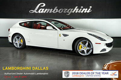 Ferrari FF  RARE FF!+AWD+4 SEATS+LOW MILES+NAV+RR CAMERA+SPORT WHLS+YELLOW CALIPERS+SHIELDS