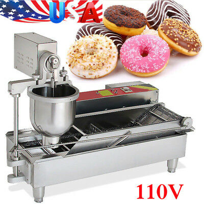Commercial Electric Automatic Donut Maker Doughnut Making Machine 3 sets USA