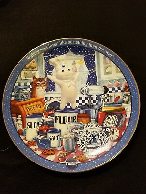Pillsbury Doughboy Danbury Mint Plate. Ingredients for fun