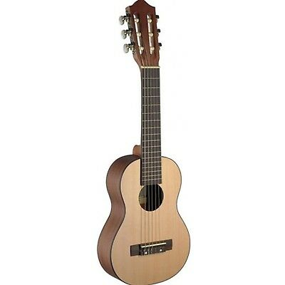 UKG 20 Nat Ukulele Size Classic Guitar with Spruce Top Back and Sides Sapelli