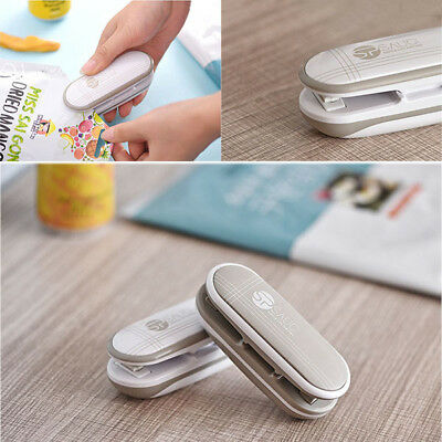 New Portable Mini Heat Sealing Machine Sealer Seal Cut Food Packing Plastic