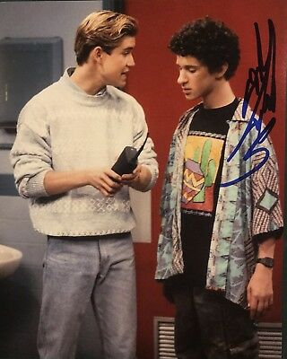 DUSTIN DIAMOND SIGNED 8x10 PHOTO AUTOGRAPHED ACTOR SAVED BY THE BELL SCREECH