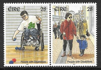 Ireland 1996  People with Disabilities. Set of 2  MNH  Cat £2.50