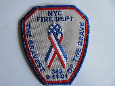 FDNY New York The Bravest of the Brave 343 9-11-01