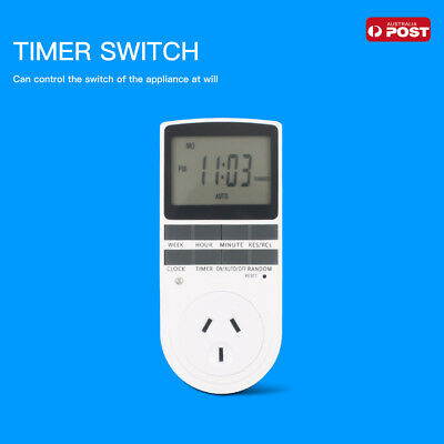 Digital Timer Switch 240V Automation Electric Programmable Powerpoint AU