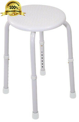 Aidapt White Multi Purpose Round Stool (Eligible for VAT relief in the UK)