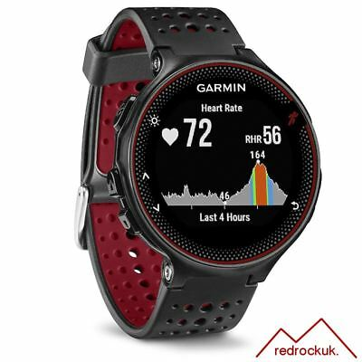 Garmin Forerunner 235 ANT+ GPS Integrated HRM Sports Running Watch - Black/Red