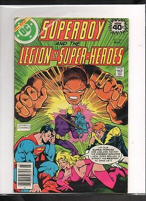 Superboy #249 Vg+  1979 Dc (Free Shipping On $15 Order!)