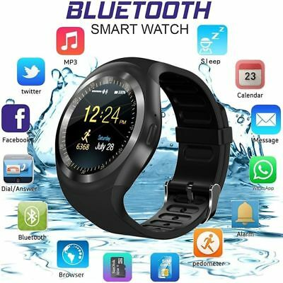 Y1 Waterproof Bluetooth Smart Watch Phone Mate For Samsung LG Android IOS iPhone