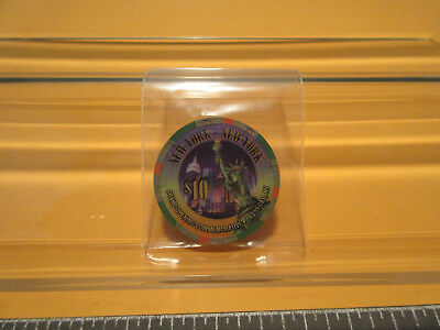 "Collect: New York-New York ""grand Opening-Comm."" $10. Ten Dollar Casino Chip-Lvn"