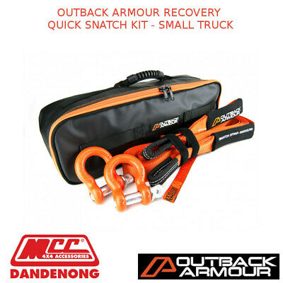 Outback Armour Recovery Quick Snatch Kit - Small Truck